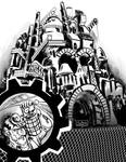 steampunk Factory Exploration by mannycartoon