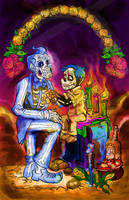 Day of the Dead by mannycartoon