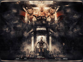 Wallpaper Hell in a cell 2013 by ahmed-aldhfeeri