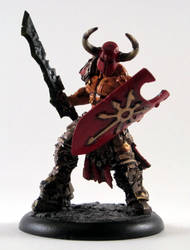 Slaughterpriest of Khorne by Scumdog47
