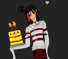Happy Birthday, luvs2sketch by Kaiju-Borru-Zetto