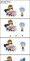 Group hug OwO by MizumiHisui