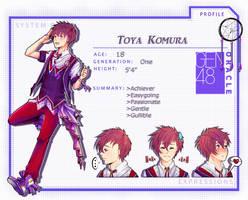 GEN48- Toya Komura by MizumiHisui