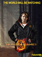The Hunger Games Katniss by fillesu96