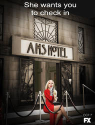 She wants you to check in AHS Hotel by fillesu96