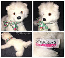 Douglas Medium Floppy Dogs- Piper Samoyed by Disney1123