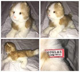 Douglas Mini Floppy Cats- Buff Cream Cat by Disney1123