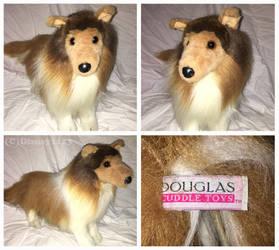 Douglas Cuddle Toys- Dixie Shetland Sheepdog by Disney1123