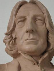 Severus Snape portrait bust. 5. 2012 by MarieChristensen