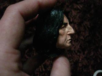 Severus Snape mini portrait painted 3 by MarieChristensen