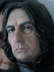 Severus snape bust painted. nr.2 2012 by MarieChristensen