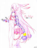 Yae Sakura by humphreylevine2014