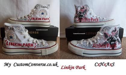fb2dd029c5ffef Linkin Park - My Custom Converse by CxHxAxS on DeviantArt