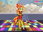 Sunset Shimmer Dance Magic by user15432
