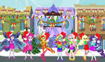 Equestria Girls as Christmas Fairies by user15432