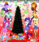 Christmas Equestria Girls by user15432