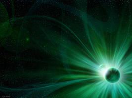 birth of star by GucalovPavel