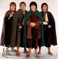 The Hobbits by harley-bridges
