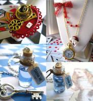 Alice in Wonderland Jewelry by StrangeWonderland
