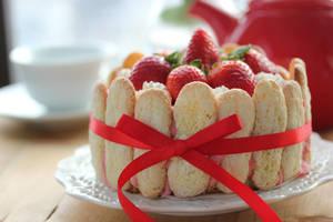 Strawberry Charlotte by StrangeWonderland