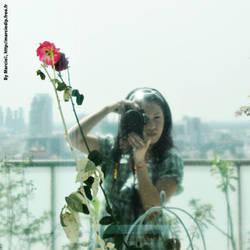 ID rose mirror by Marciedip