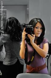 Me with my Nikon by Marciedip