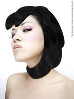 Hair Cagoule by Marciedip