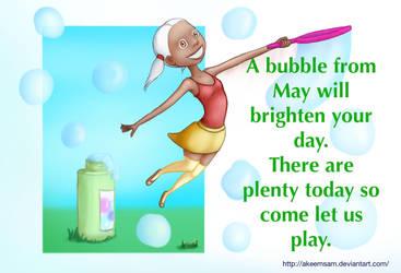 Happy Bubbles by Keem-Toon
