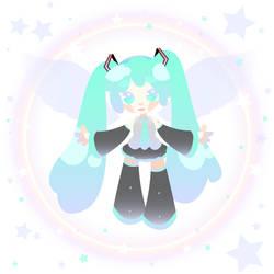 Hatsune Miku by xXkuranprincessXx