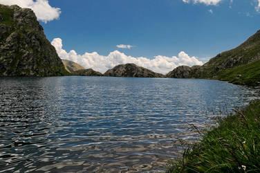 Calm lake by osmosis-it