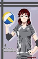 Parisia - The Volleyball Player by avimHarZ