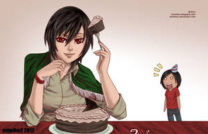 Me, Avi and the cake that will never exist. by avimHarZ