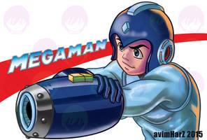 Fanart: Megaman by avimHarZ
