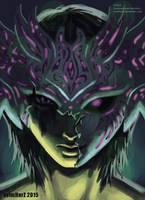 Digital Painting: 'Torn Mask' ft. Avi by avimHarZ