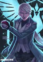 Fanart: Blanche from Pokemon Go/Team Mystic by avimHarZ