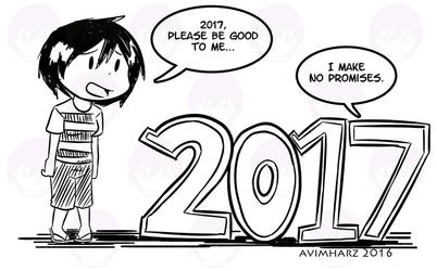 Hello 2017! by avimHarZ