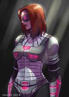 COMMISSION - Black Widow by avimHarZ