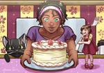 Commission - Kara, Naomi and Pancakes by avimHarZ