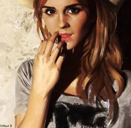 Emma Watson Portrait by theLateman