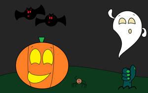 Happy Halloween by thecrazyworldofjack