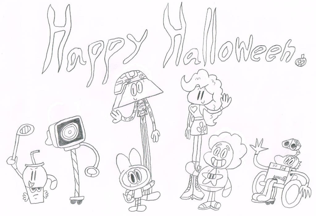 Happy Halloween from The Jameson Costume Group by thecrazyworldofjack