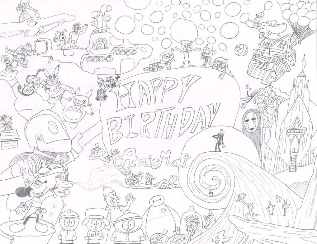 A Gift for AniMat505 by thecrazyworldofjack