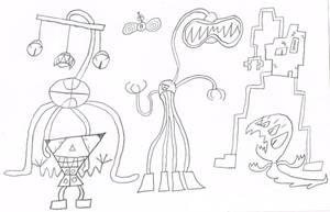 Alien Squad by thecrazyworldofjack