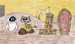 10 Years of WALL-E by thecrazyworldofjack