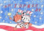 Happy Independence Day 2018 by thecrazyworldofjack