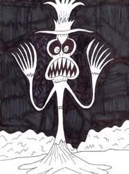 Huffingtober 24, The Demon Cowboy by thecrazyworldofjack