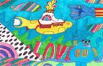 50 Years of Yellow Submarine by thecrazyworldofjack