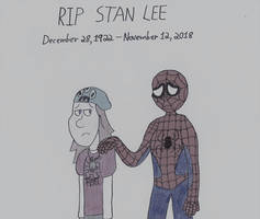 In Memory of Stan Lee by thecrazyworldofjack