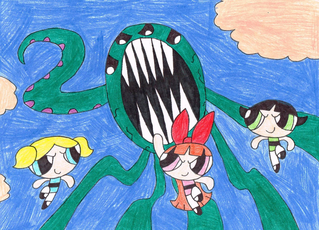 20 Years of The Powerpuff Girls by thecrazyworldofjack