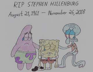 In Memory of Stephen Hillenburg by thecrazyworldofjack